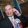 John McCallister,UUP spreading the news of his election success.