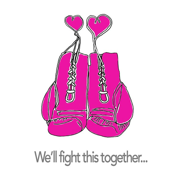 We'll fight this together...
