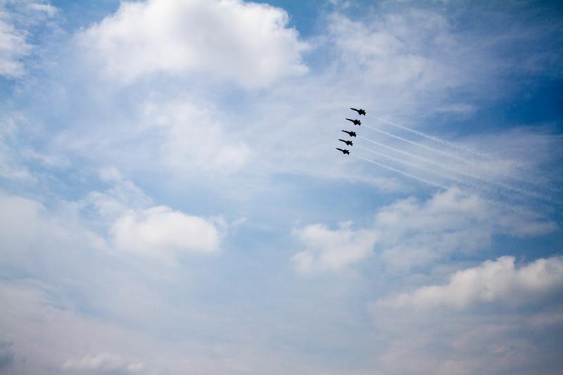 Blue Angels, Blue Sky