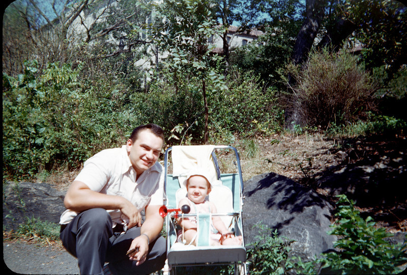 baby richard in stroller with daddy.jpg