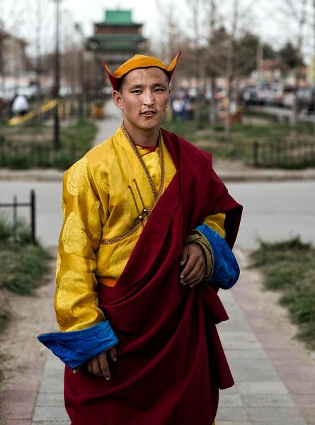 Tibetan Buddhist Monk.