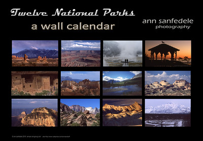 Twelve National Parks - cafepress format