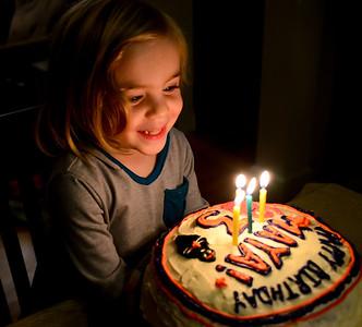 20131109 Maya's Third Birthday
