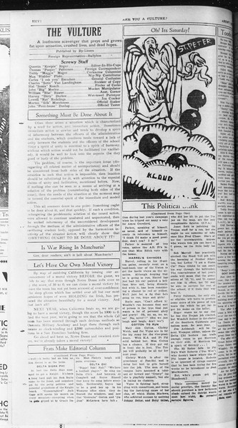 Daily Trojan, Vol. 23, No. 45, November 13, 1931