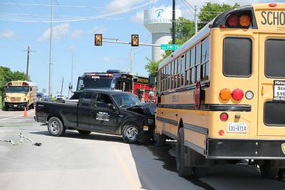 Princeton TX. Bus vs. pick up Monte Carlo/ FM 75  4/25/19