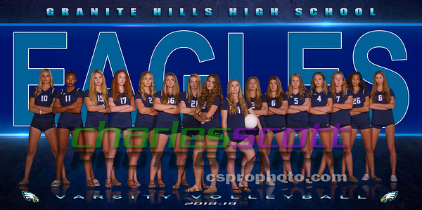 GHHS Girls Volleyball 2018-19
