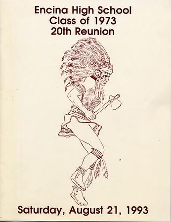 Encina Class of 1973: 20 year reunion photobook