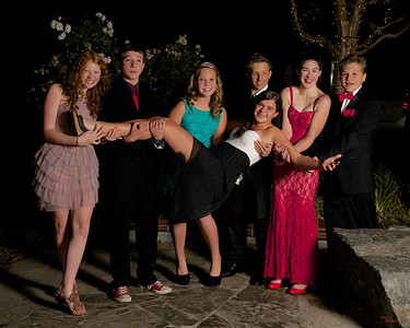 Los Gatos Homecoming Dance Portraits 2013