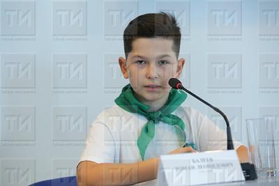 04.10.2019 Пресс конференция о возрождении юннатского движения в РТ (Султан Исхаков)
