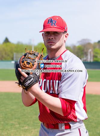 5/6/2015 - Varsity Baseball - Bridgewater-Raynham vs Brockton