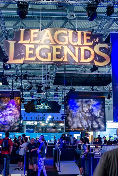 League of Legends booth @ Gamescom 2012