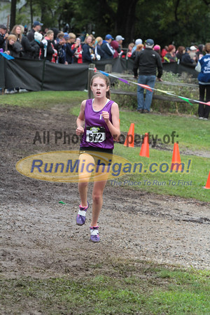 Girls D1 Finish - 2014 Nike Holly Duane Raffin Cross Country Invite