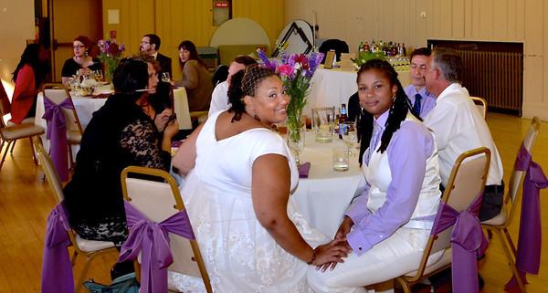 Wedding at the Emeryville Senior Center