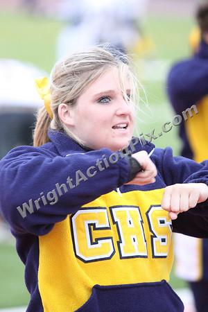 2009 10 08 JV Cheer at Oak Park