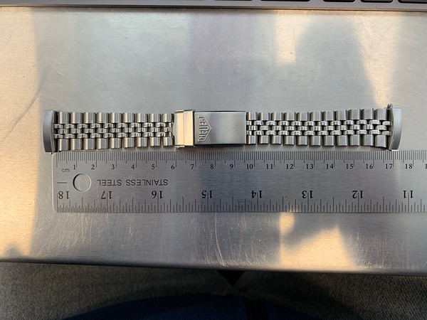 BRAC23 - Heuer Jubilee Bracelet
