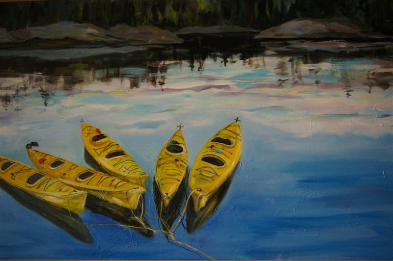 Morning Kayaksn -SOLD!