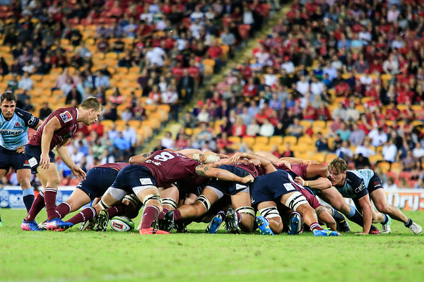 Reds Vs Waratahs at Suncorp Stadium