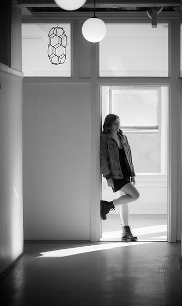 Scout - Senior Photography - Downtown Stockton - North California- senior photography ideas - perfect freckles