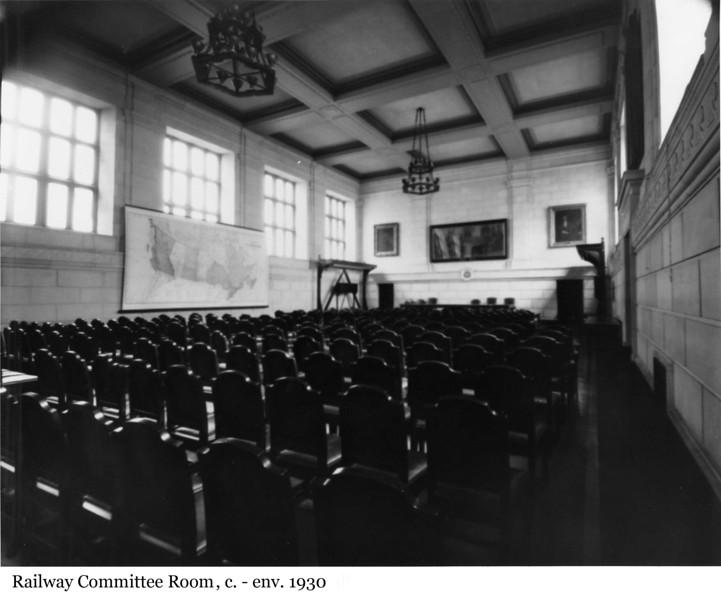 Railway Committee Room - La Salle des chemins de fer, c. - env. 1930