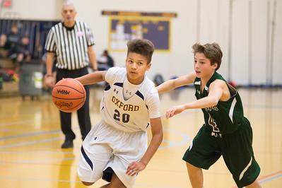 2015 - 2016 7th Grade Blue Basketball