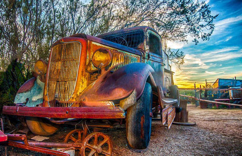 This Old Truck - Greasewood Flats, Scottsdale