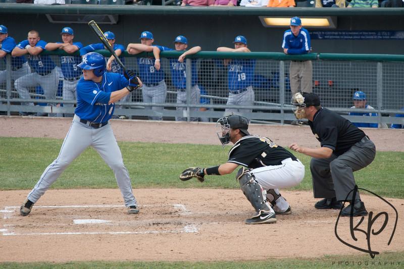 Valparaiso vs. Kentucky - June 2, 2012 Gary Steelyard - Home of the Railcats Kentucky Wins 8-1