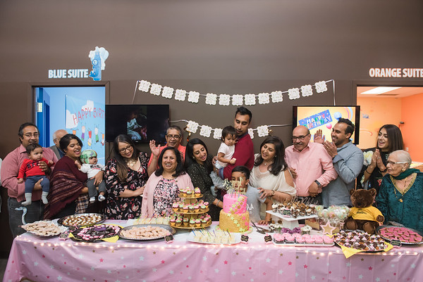 Raynaa 1 year old party