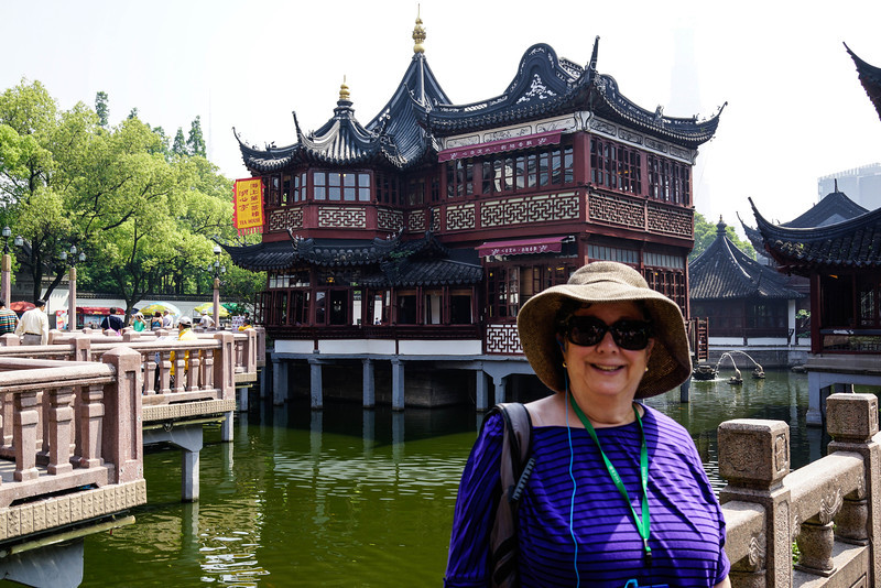 Renee Mirsky at the Yu Garden