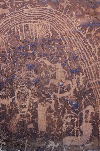Native american art, Rochester Panel, Utah
