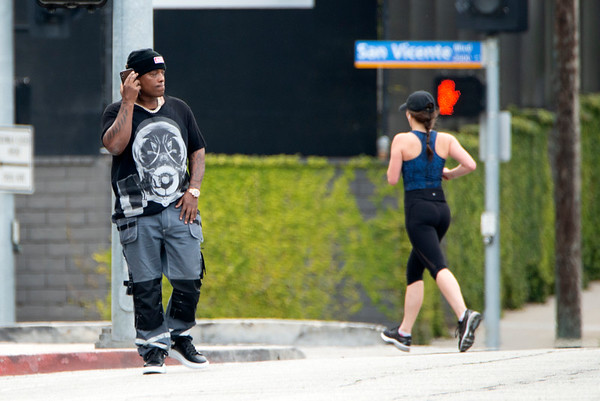 Won-G Bruny spotted in Los Angeles