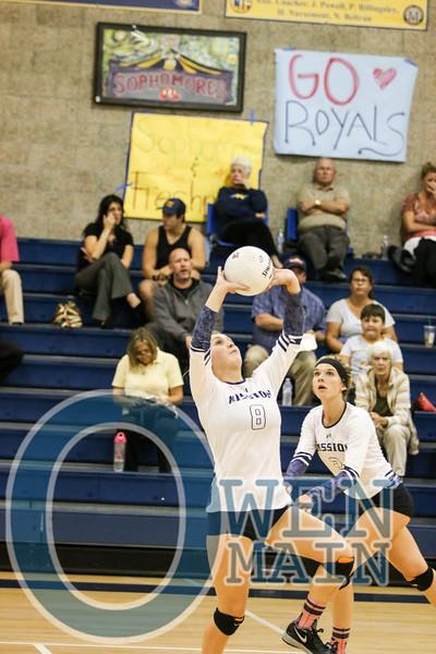 MCP vs. Atascadero Volleyball 10/20/2015
