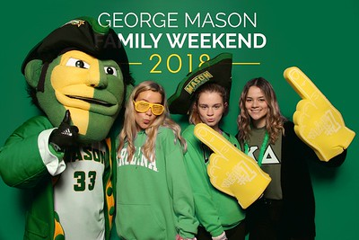 George Mason Family Weekend 11.9.18-11.10.18