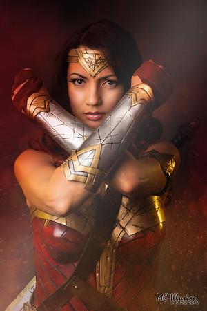 Wonder Woman BVS  - Ivy Cosplay