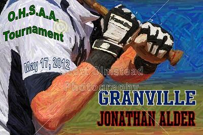 2012 Granville versus Jonathan Alder - OHSAA District Championship (05-17-12)