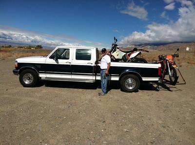 4 Day Death Valley Ride Oct 2012