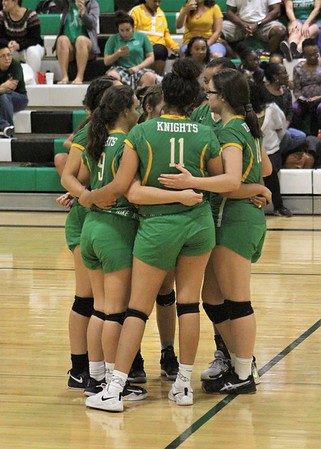 2018 girls volleyball amphi st marys