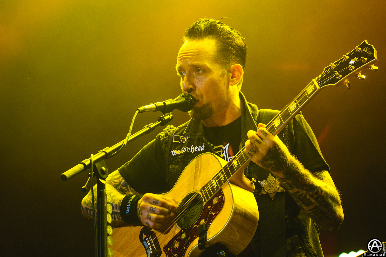 Volbeat live at Open Air Gampel Festival in Switzerland