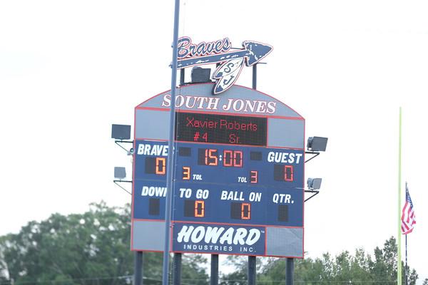 South Jones vs Richter Varsity football
