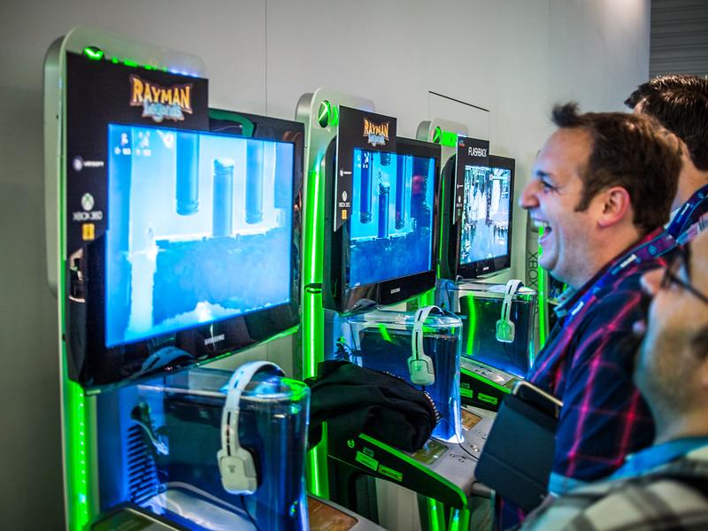 Rayman Legends on Xbox 360 at Gamescom 2013