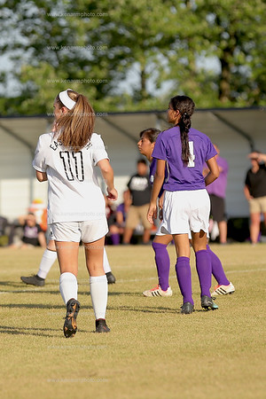 West Bladen vs East Bladen girls soccer
