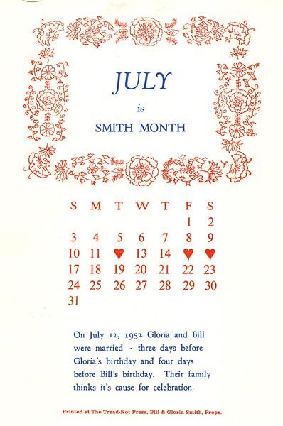 July, 1994, Tread-Not Press