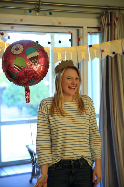 We celebrated Aubrey's 23rd birthday a few days early.
