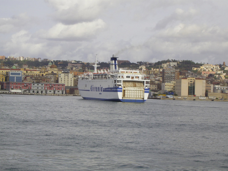 2007 - F/B FLAMINIA arriving in Napoli.