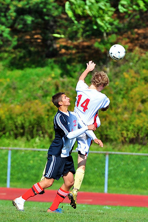 10.15.11 - NBHS Lions Soccer vs. Mohawk HS