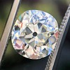 3.07ct Antique Cushion Cut Diamond GIA M VS2 2