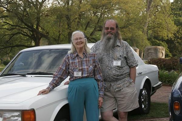 Richard & Mildred Proctor<p>1995 Flying Spur
