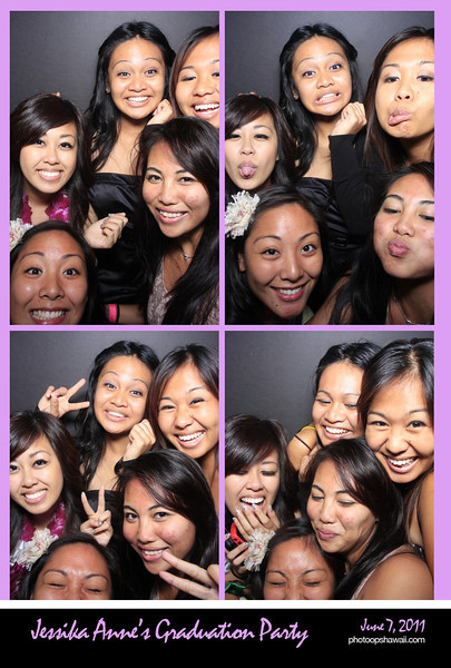Jessika's Graduation Party (Photo Booth)