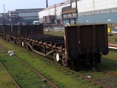 BNA - Bogie Steel Plate Wagon
