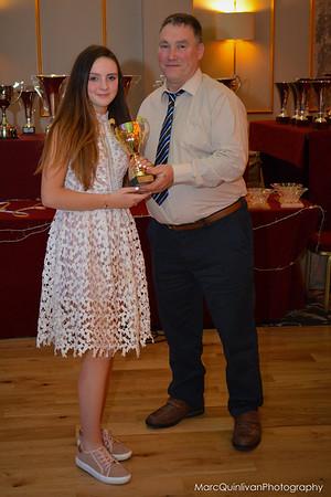 Motorsport Ireland Karting Awards 2016 - Alyx Coby