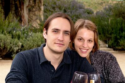 2006-2-26 Monica & Phil Wine Country